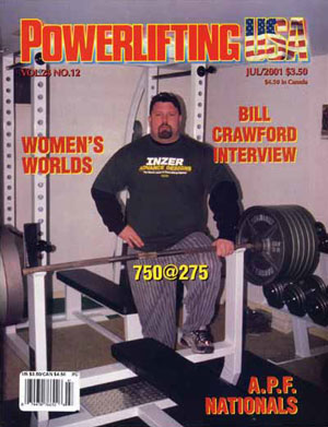 Bill Crawford on Powerlifting USA