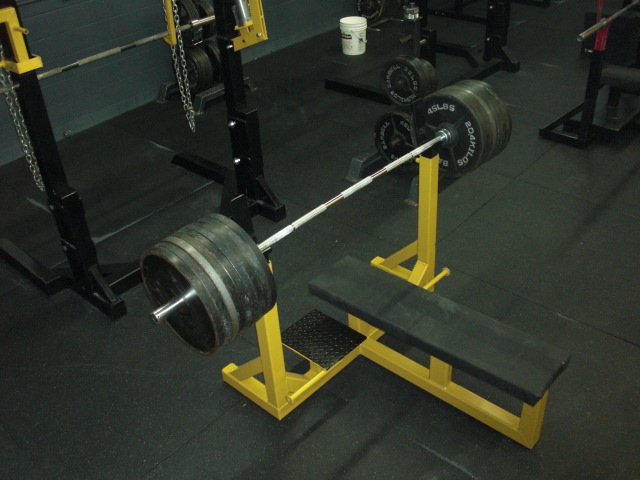 METAL MILITIA BENCH PRESS FOR SALE