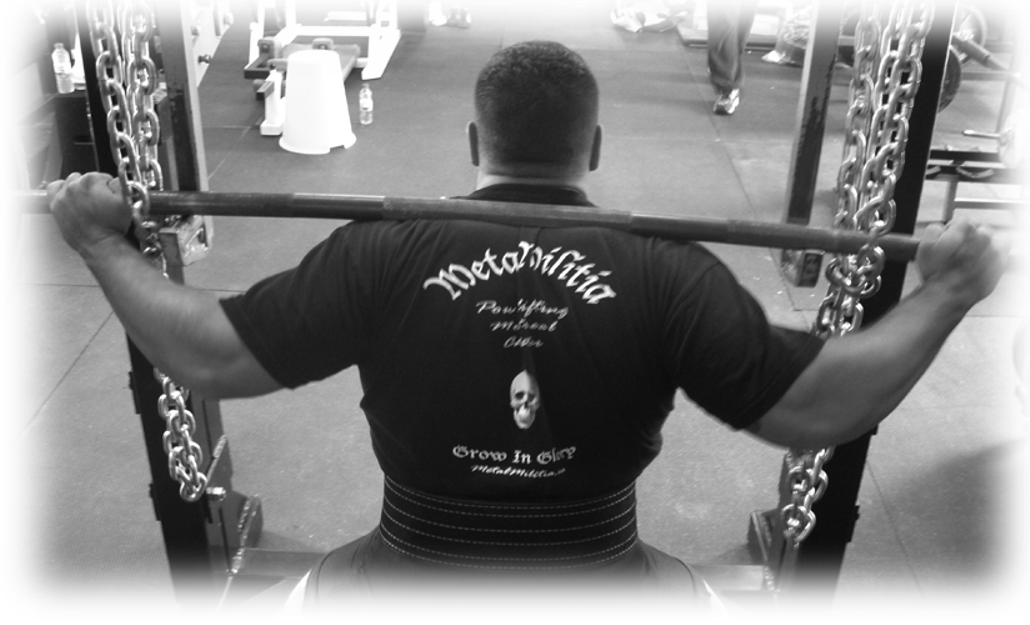 Joanick Boilard METAL MILITIA back squat view