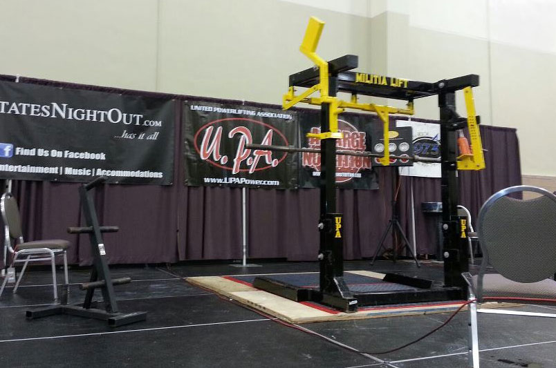 METAL MILITIA MONOLIFT FOR SALE at UPA powerlifting meet