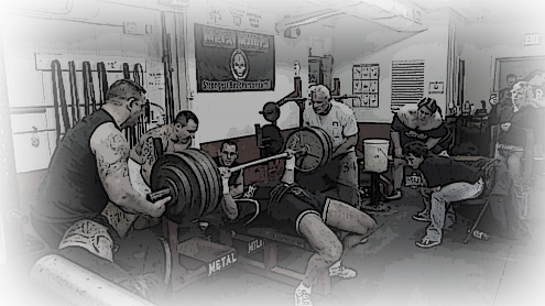 Ross Saldan bench press